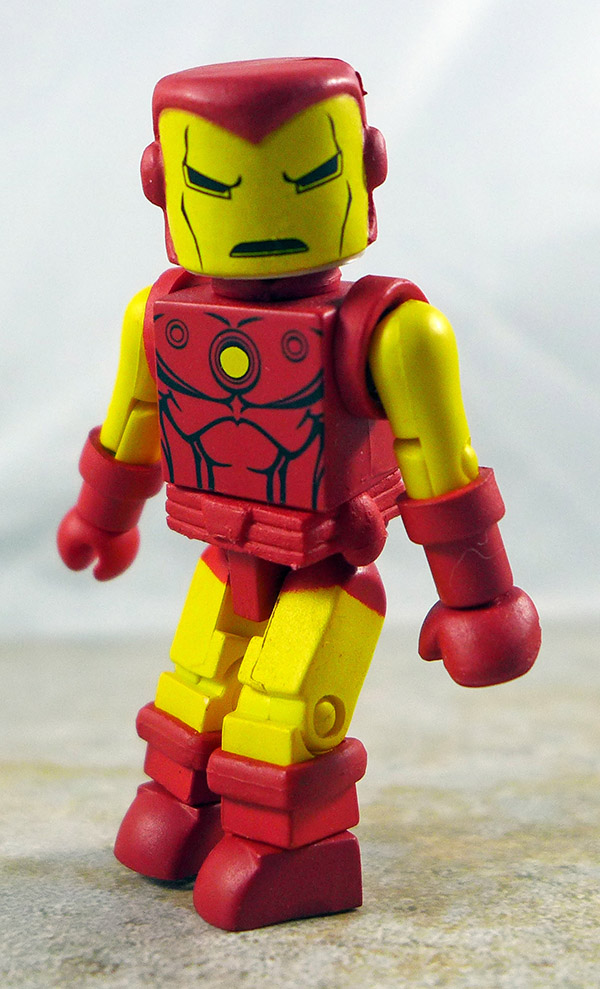 Iron Man Loose Partial Loose Minimate (Marvel 'Best of