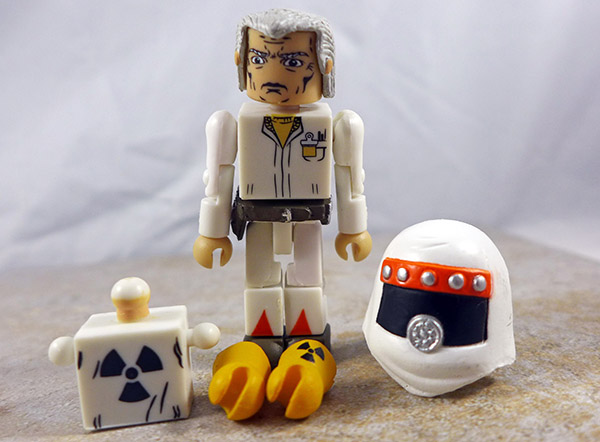 Dr. Emmett Brown Loose Minimate (Back to the Future 25th Anniversary Box Set)