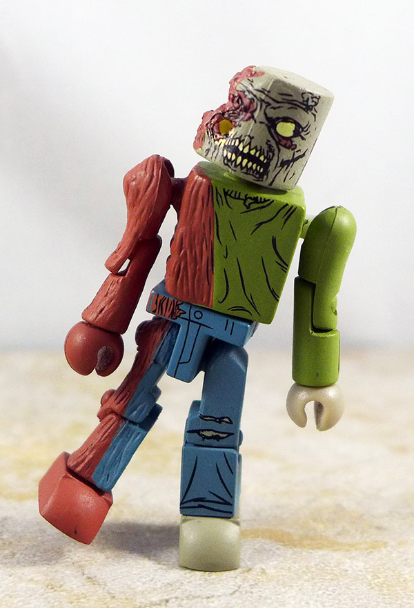 One-Eyed Zombie Partial Loose Minimate (Walking Dead Wave 2)