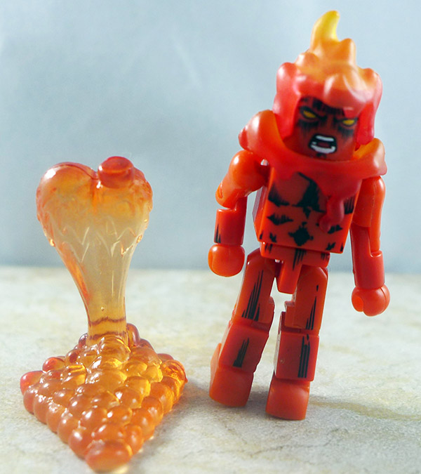 Human Torch Partial Loose Minimate (Wave 8)