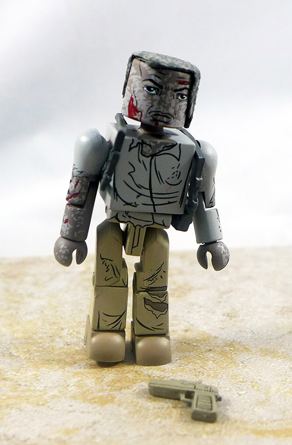 Battle -Damaged Harrigan Loose Minimate (Predator TRU Series 2)