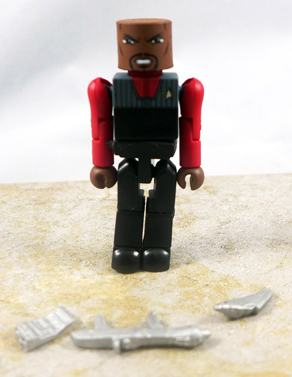 Captain Sisko (vest) Loose Minimate (Star Trek Legacy TRU Series 1)