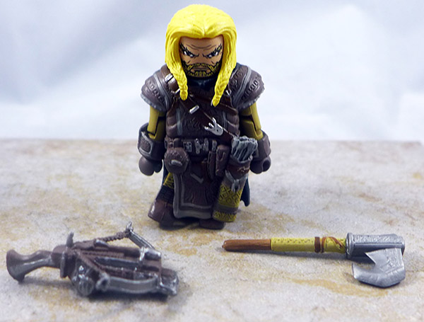 Harsk, Dwarf Ranger Loose Minimate (Pathfinder Box Set)