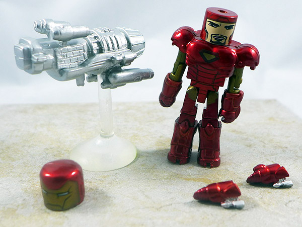 Iron Man Loose Minimate (Marvel vs. Capcom Wave 1)