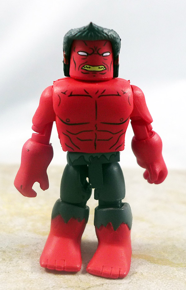 Red Hulk Loose Minimate (Walgreens Wave 7)
