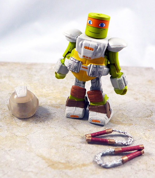 Space Suit Michelangelo Loose Minimate (TMNT Blind Bag Series 5)