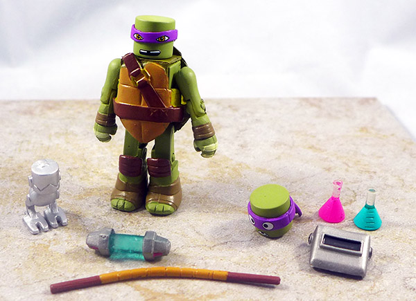 Inventor Donatello Loose Minimate (TMNT Blind Bag Series 5)