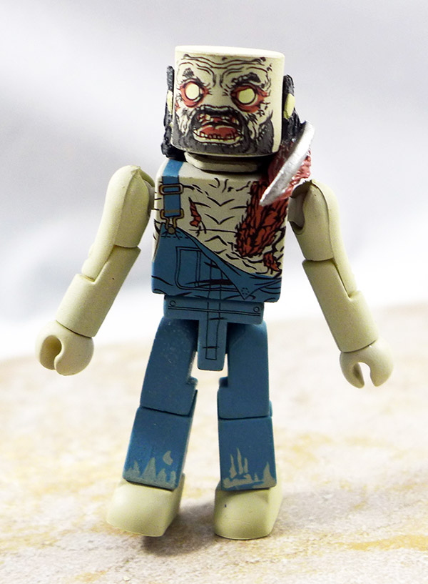 Farmer Zombie Loose Minimate (Walking Dead Wave 3)
