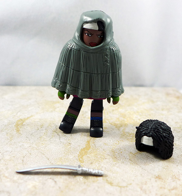 Hooded Michonne Loose Minimate (Walking Dead Wave 4)