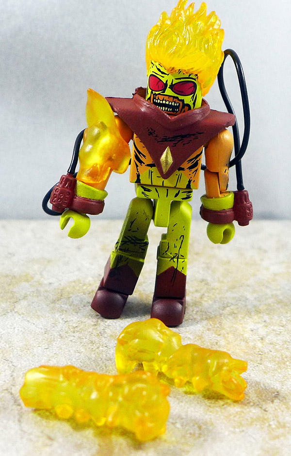 Zombie Pyro Loose Minimate (Villain Zombies Box Set 3)