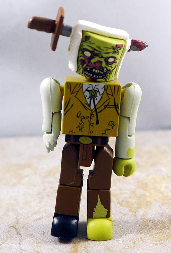 Stabbed Zombie Loose Minimate (Walking Dead Wave 2)