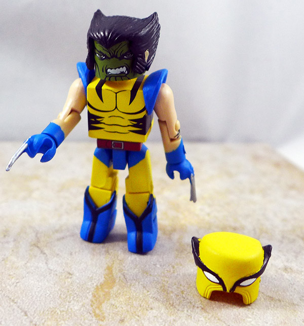 Wolverine Partial Loose Minimate (Secret Invasion Box Set)
