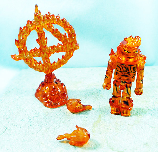 Nova Flame Human Torch Loose Minimate (TRU Wave 15)