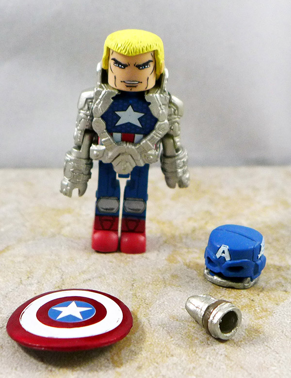 Space Suit Captain America Loose Minimate (Infinity Box Set)