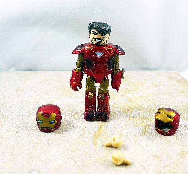 Battle Damaged Mark VI Iron Man Loose Minimate (Iron Man 2 Battle Tactics Box Set)