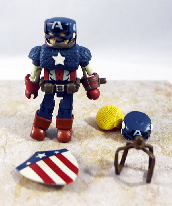 World War II Captain America Loose Minimate (Captain America Through the Ages Box Set)