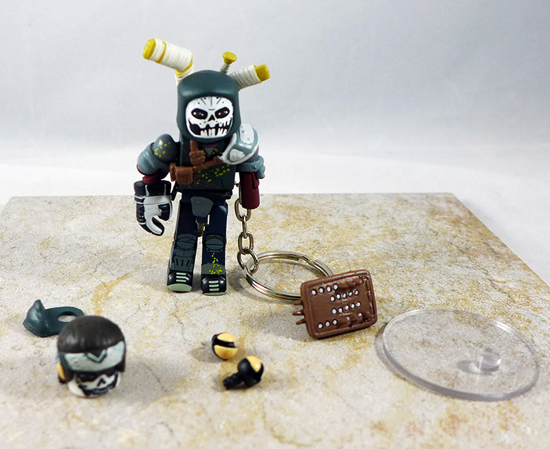 Casey Jones Loose Minimate (TMNT Blind Bag Series 2)