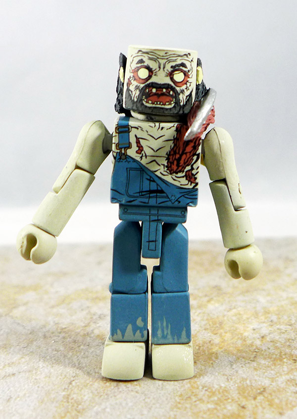 Farmer Zombie Loose Minimate (Walking Dead Wave 3)