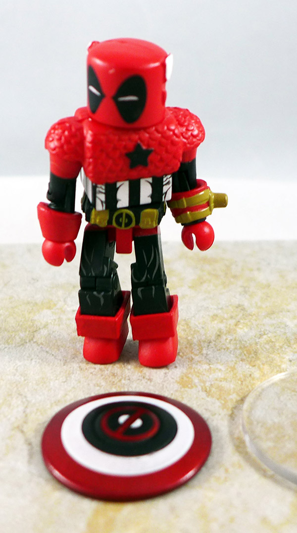 Captain Ameri-Pool Loose Minimate (Deadpools Assemble! Box Set)