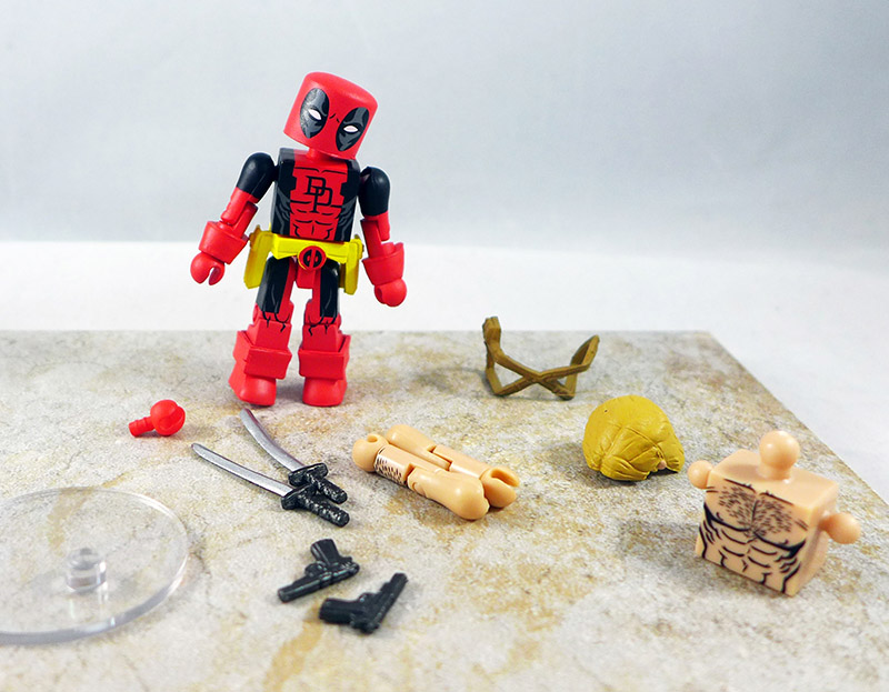 Secret Wars Deadpool Loose Minimate (Wave 65)