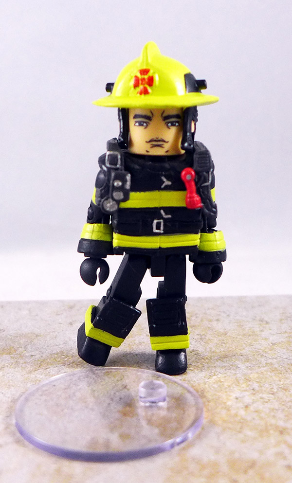 Fire Firefigther Chief 1 Custom Partial Loose Minimate (Elite Heroes Wave 1)