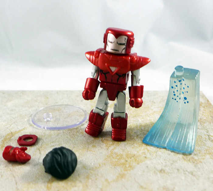 Silver Centurion Iron Man Loose Minimate (Wave 36)