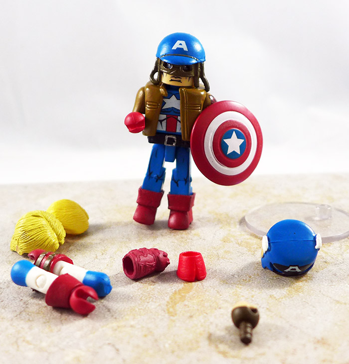 Captain America Loose Minimate (Wave 42)