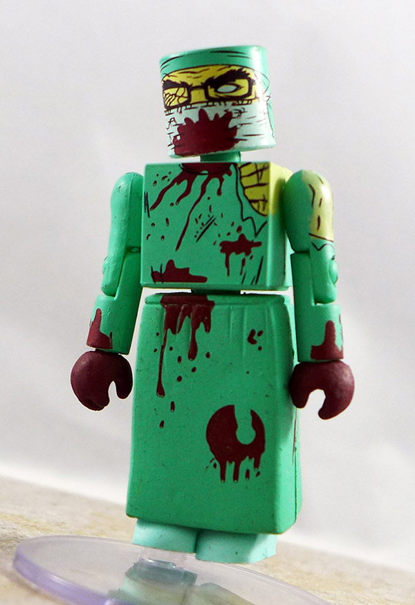 Zombie Surgeon Partial Loose Minimate (NYCC 2011 Maximum Zombie Exclusives)