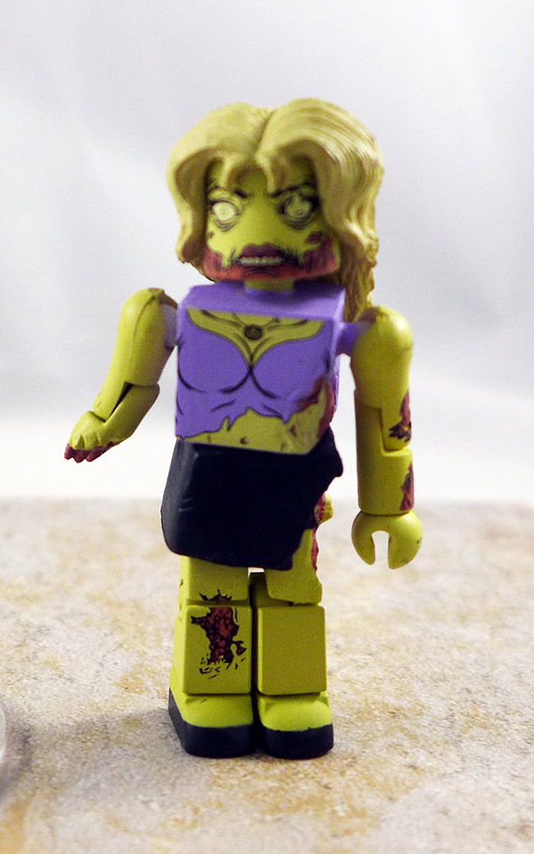 Female Zombie Partial Loose Minimate (Walking Dead Wave 1)