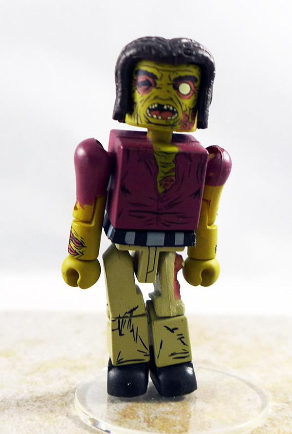 Dreadlock Zombie Custom Partial Loose Minimate (Walking Dead Wave 3)