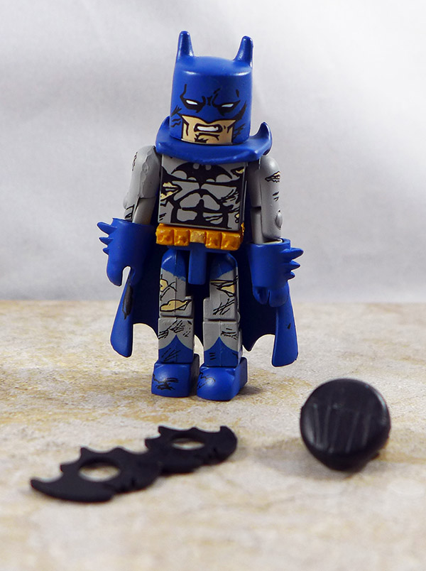 Batman Battle-Damaged Loose Minimate (DC Minimates Series 3)