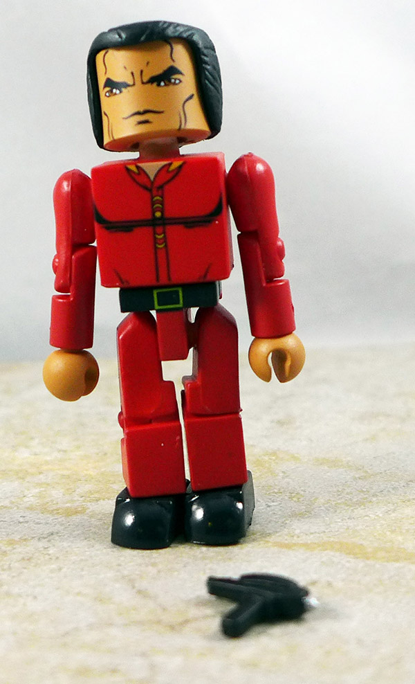 Space Seed Kahn Loose Minimate (Star Trek Series 3)