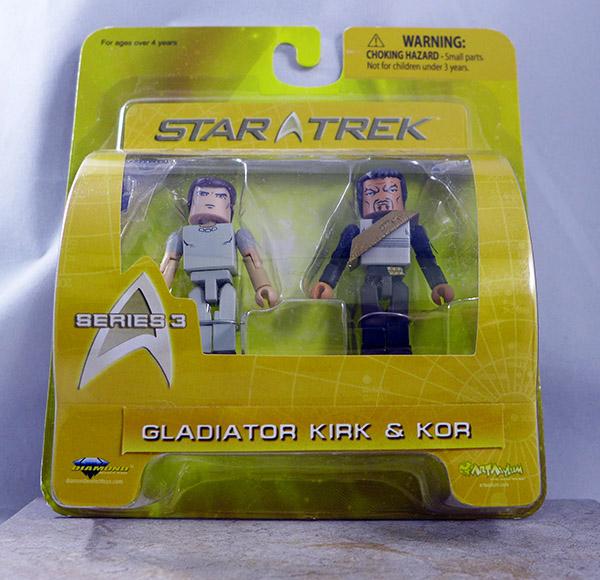 Gladiator Kirk and Kor (Star Trek Series 3)