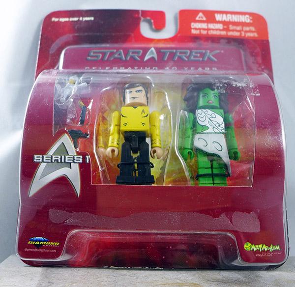 Captain Kirk and Vina (Star Trek Series 1)