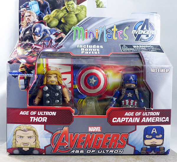 Age of Ultron Thor and Age of Ultron Captain America (Wave 61)