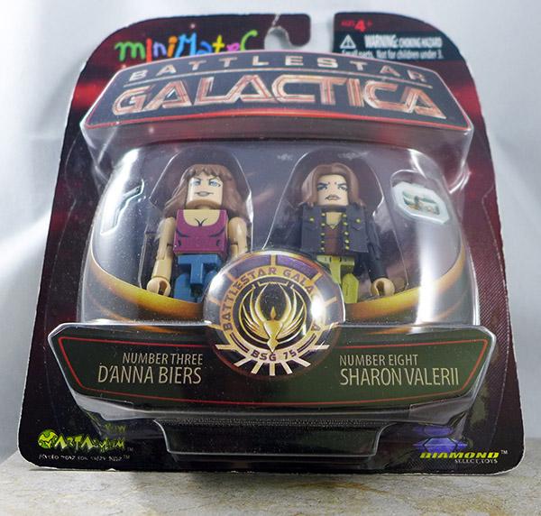 Number Three D'Anna Biers & Number Eight Sharon Valerii (Battlestar Galactica Wave 3)