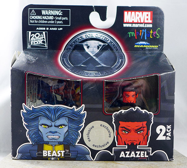 Beast and Azazel (X-Men First Class TRU Wave)