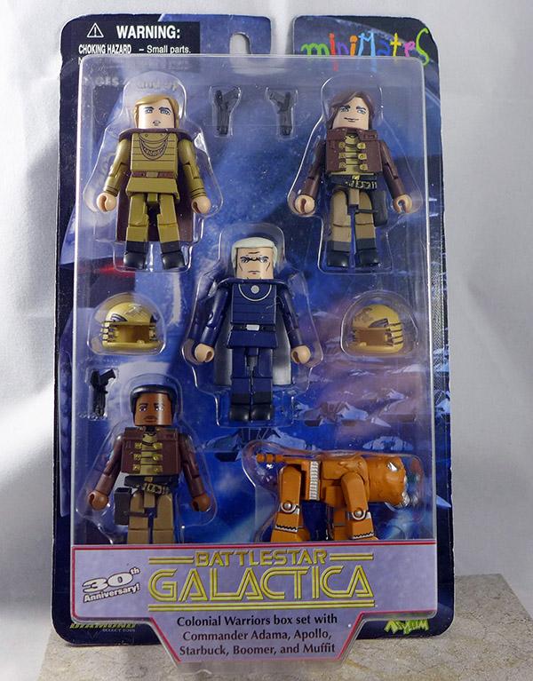 Classic Battlestar Galactica Colonial Warriors Box Set