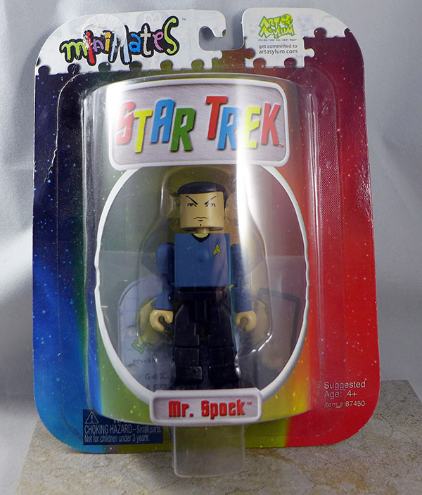 Mr. Spock (Carded) (Star Trek Series 1 (3