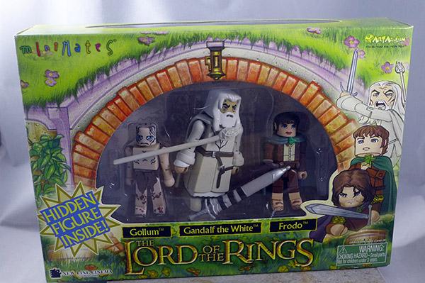 Gollum (calm), Gandalf the White, Frodo and Uruk-hai Berzerker Box Set (Lord of the Rings)