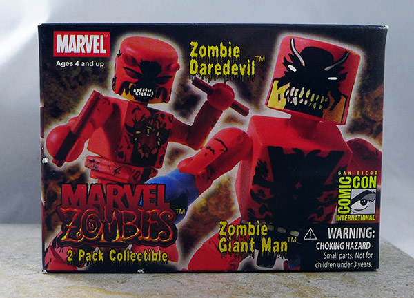 Zombie Daredevil and Zombie Giant Man (SDCC 2007 Exclusive)