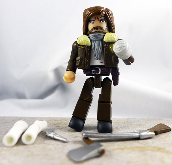 Survivor Rick Grimes Loose Minimate (Walking Dead TRU Wave 4)