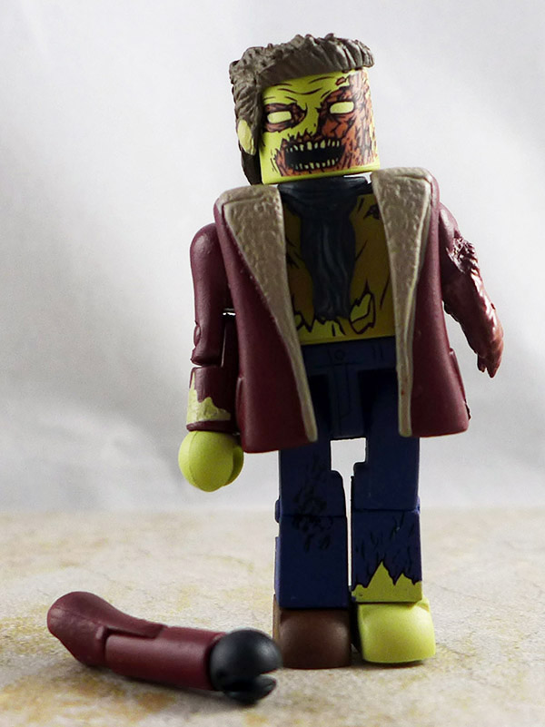 Winter Zombie Loose Minimate (Walking Dead Wave 6)