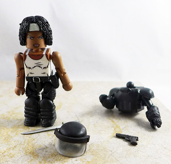 Riot Gear Michonne Loose Minimate (Walking Dead TRU Wave 5)