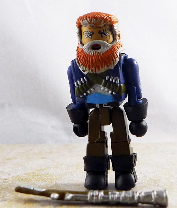 Bearded Pirate Loose Minimate (Calico Jack's Pirate Raiders Pirate Ship Set)