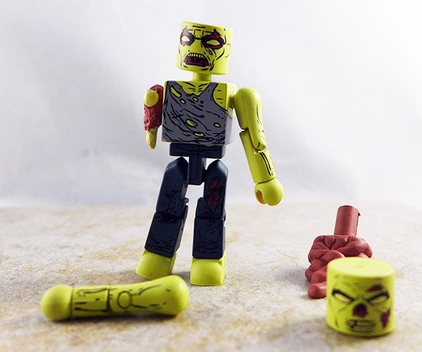 Forest Zombie Loose Minimate (Walking Dead Wave 8)