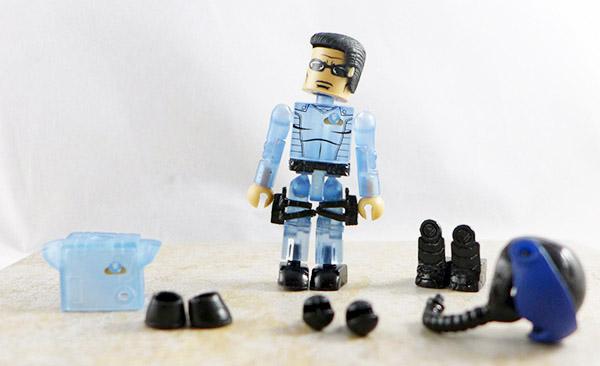 Pilot (Blue) Loose Minimate (M.A.X.-Tech Stealth Jet (Blue) Set)
