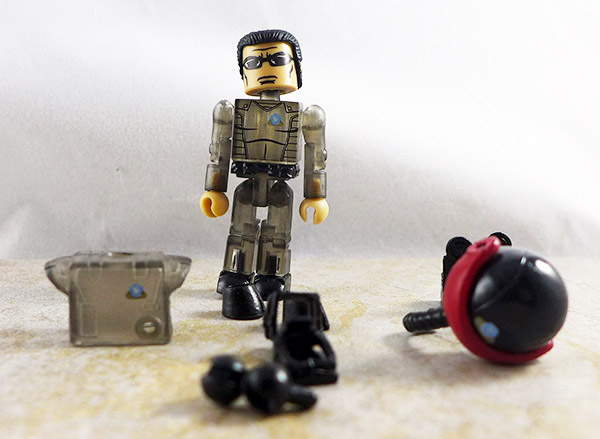 Pilot (Black) Loose Minimate (M.A.X.-Tech Stealth Jet (Translucent Black) Set)
