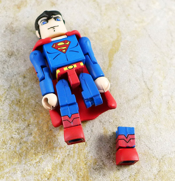 Superman (Broken Leg) Loose Minimate (C3 Wave 1)