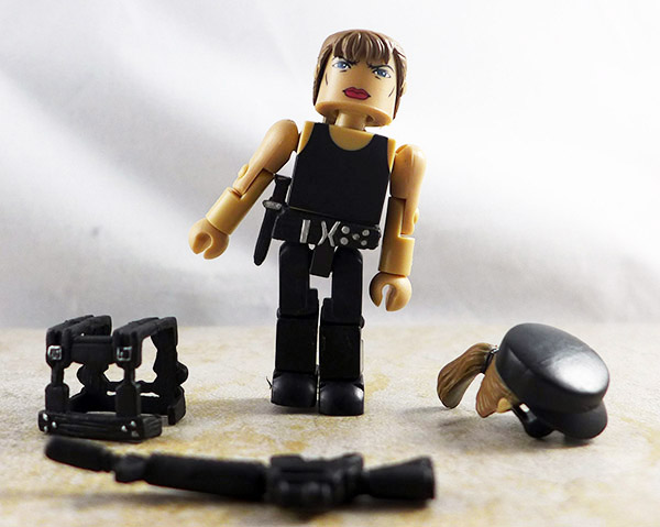 SWAT Sarah Connor Loose Minimate (Cyberdyne Assault Box Set)